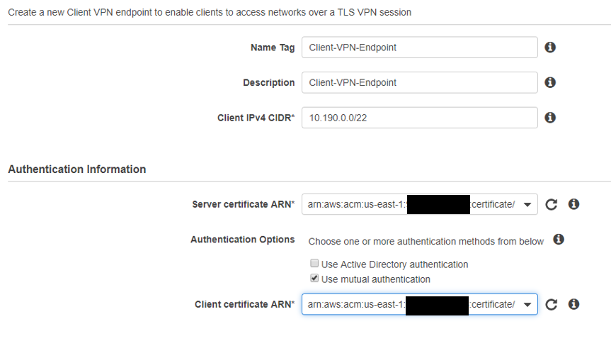 [GUIDE]: Setting up an AWS VPC Client VPN 2