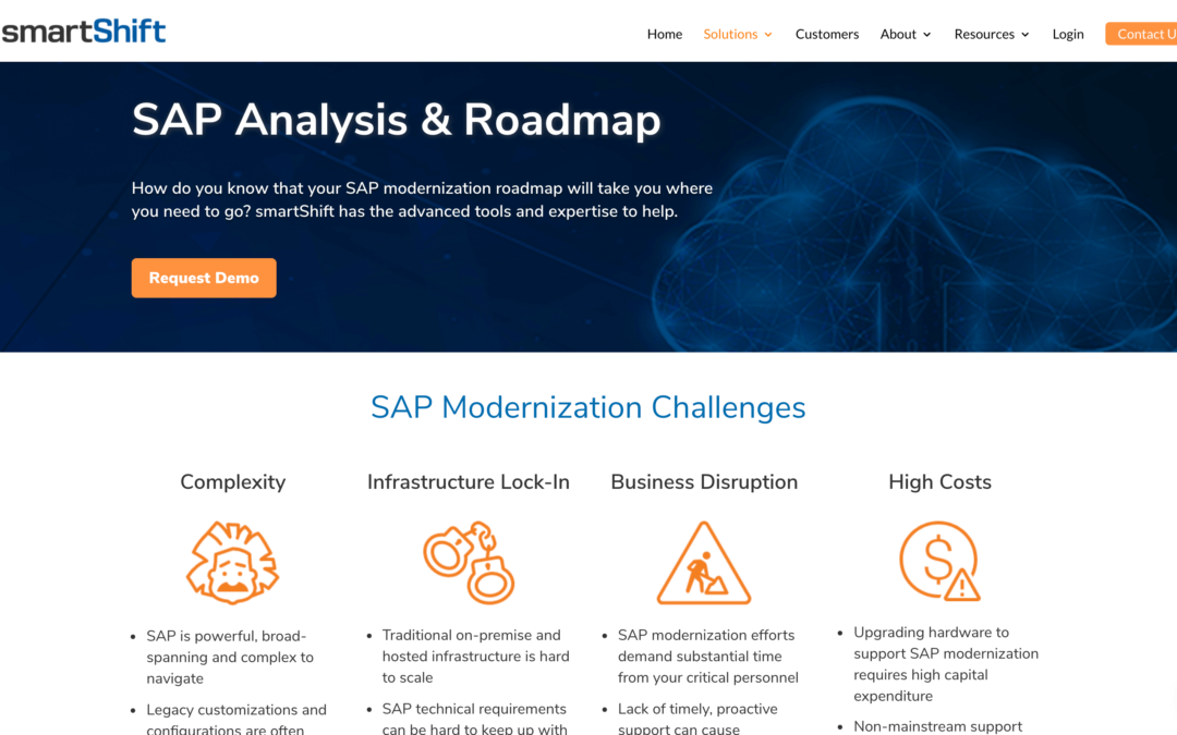 SAP Analysis and Roadmap