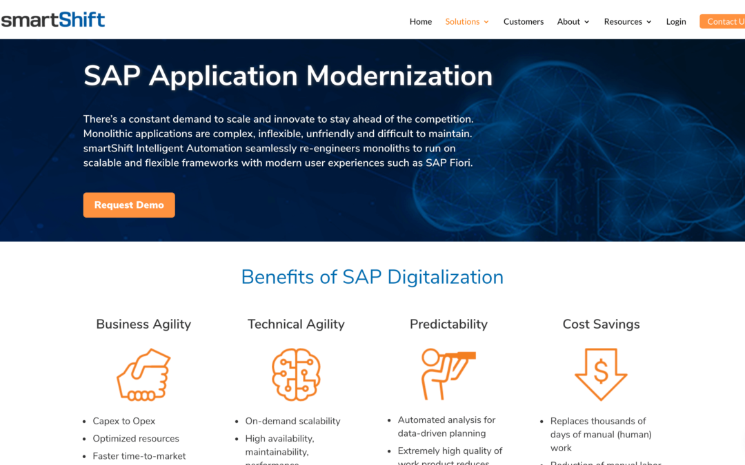 SAP Application Modernization