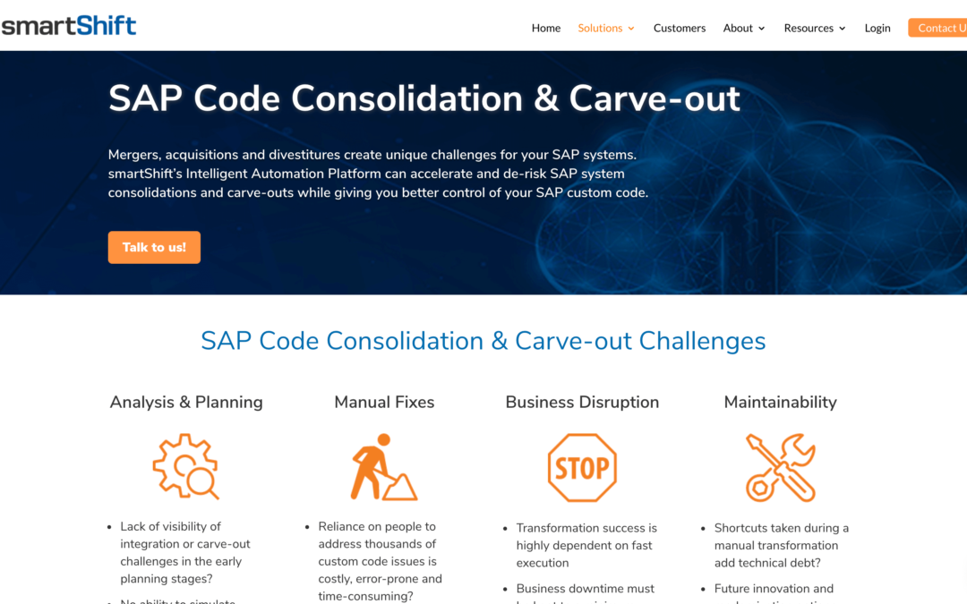 SAP Consolidation & Carve-out