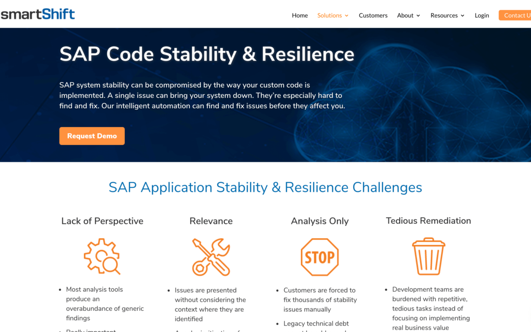 SAP Code Stability & Resilience