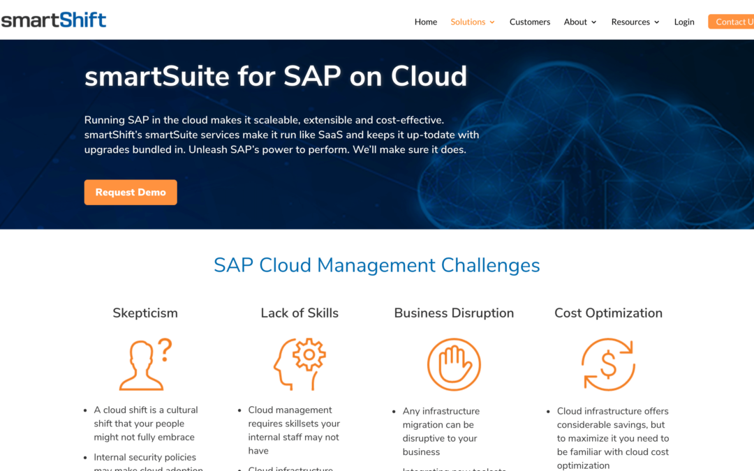 smartSuite for SAP on Cloud